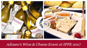 Vignette Wine & CheeseIPPE 2017