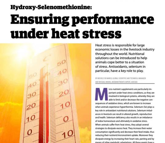 Ensuring performance under heat stress