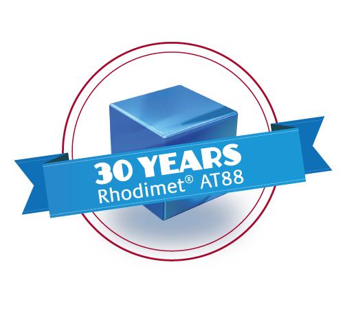 Rhodimet® AT88: 30 anos !