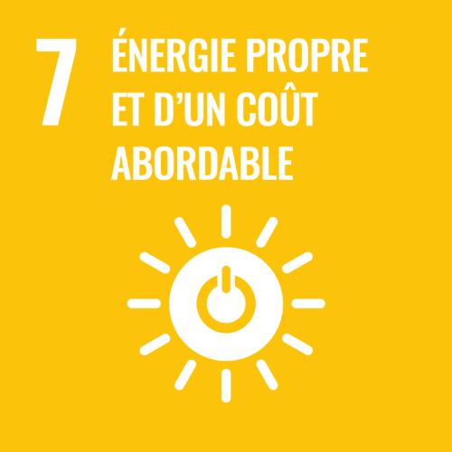 7 - Energie propre et d'un coût abordable